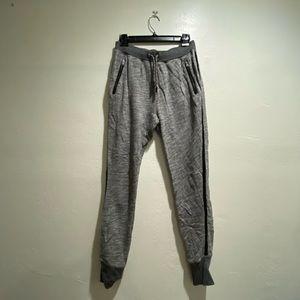 Rag & Bone Track Pant Jogger Grey w/ Black Stripe